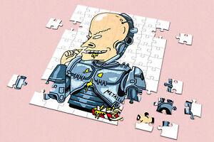 Heart 201/500/1000 Pieces Jigsaw Puzzles Beavis And Butthead x Robocop Stupid