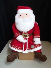 Hallmark The Polar Express Santa Claus Believe Talking Sound Plush Toy Christmas