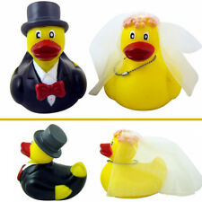 Mr. & Mrs. Duck Gift Box Wedding Bride Groom Rubber Duckies Set Hen Stag Party