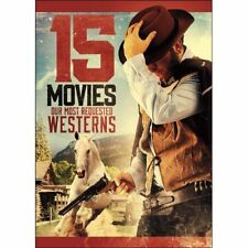 15movie DVD The Decoy,Justin KREINBRINK,Richard BOONE,Slim PICKENS,Gatling Gun