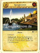 A Game of Thrones LCG - 1x Springbrunnen  #029 - Prinzen der Sonne