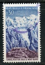 STAMP / TIMBRE FRANCE OBLITERE N° 1454 TUNNEL DU MONT BLANC