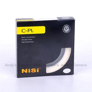 Nisi 52/55/58/62/67/72/77/82/86mm Polarizer Ultra Slim CPL Polarizing Filter