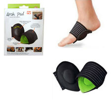 Foot Arch Support Cushioned Pad Pain Relief Insoles Barefoot