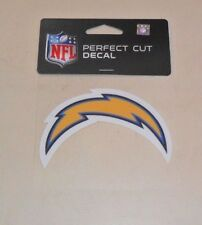NFL SAN DIEGO CHARGERS  4 X 4 DIE-CUT DECAL OFFICIALLY LICENSED PRODUCT