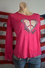Carnabys hübscher 100% Wolle Schurwolle Pullover XL 46 NEU Pink