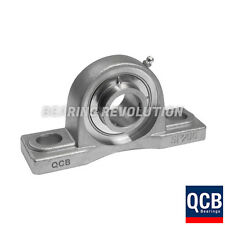 SSUCP 205 SB - STAINLESS STEEL PILLOW BLOCK HOUSING WITH A 25MM BORE