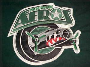 Houston Aeros Team Logo AHL Adult Unisex Green Hockey Fighting Strap Jersey 56