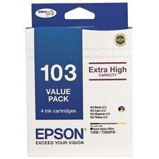 Epson T0103 Value Pack (BK/C/M/Y) TX550W/TX610FW/T1100 T103 INK HIGH T103592