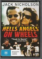 HELLS ANGELS ON WHEELS - JACK NICHOLSON - NEW & SEALED DVD FREE LOCAL POST