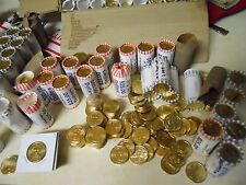 Lot of $100 in Random Uncirculated! Gold Presidential Dollars. 2008-2011 Most D
