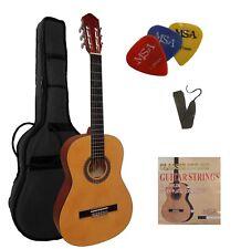 Gitarre,4/4Set/ Zubehör,Tasche+ Band u. mit ersatz Saiten, mit 3xPik/Plektren!22