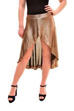 One Teaspoon Women's Elegant Skirt Gold Size S RRP $50 BCF84