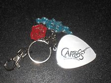 CARLOS SANTANA FRAGRANCE KEYCHAIN MERCHANDISE WOODSTOCK SMOOTH GUITAR PROMO