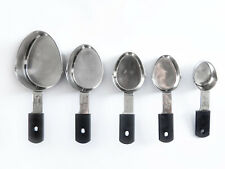 TEST WINNING  NSF 18/8 Stainless Steel Nesting Measuring Cups  Set of 5  Grip-Ez