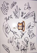 Signed A4 Of Bradford City Billy Clarke Jacob Butterfield Paul Caddis Ben Wilson