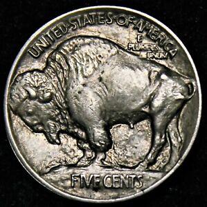 Buffalo Five (5) Cents - USA - 1913 Type 1 (Sol surélevé)