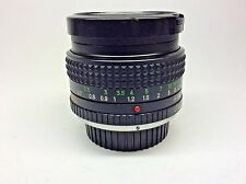 Minolta MC Rokkor-X PF 1:1.7 F=50mm Lens Made in Japan Excellent Clean Condition