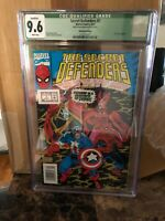 Secret Defenders #7, NM+ CGC 9.6, Newsstand Error Variant with Sticker