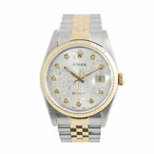 Adult Polished Solid Gold Strap Unisex Wristwatches