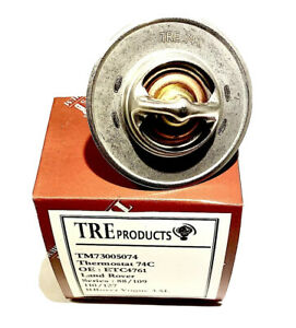 Land Rover Thermostat 74C - ETC4761 - 88/109/ - 110/127 - RRover Vogue 3.5L