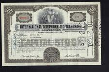ITT International Telephone & Telegraph Corporation  grey color dd 1950s