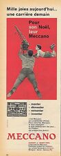 PUBLICITE ADVERTISING 035 1957 MECANO monter démonter remonter inventer