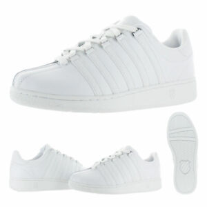 K-Swiss Classic VN Men's Leather Mono Court Tennis Sneakers Shoes