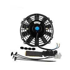 For 7 inch 12V 80W Slim Radiator Cooling Thermo Electric Fan & Mounting kit