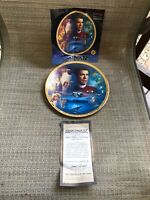 Star Trek Plate The Movies Collection Star Trek IV: The Voyage Home with COA