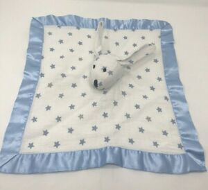 Aden+Anais Oh My Stars Boys Blue Bunny Musy Mate Security Blanket Tag Removed