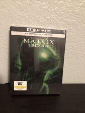The Matrix Trilogy (4K Uhd + Digital) Best Buy Steelbook - Oos/Oop Vhtf