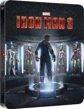 IRON MAN 3 Blu-Ray SteelBook Zavvi UK Lenticular Ltd Ed. MARVEL New OOP & Rare!