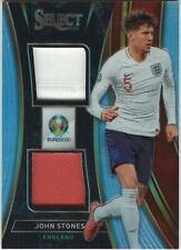 JOHN STONES 2020 Select UEFA Euro DUAL JERSEY PRIZM Manchester City ENGLAND
