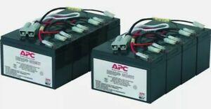 APC BY SCHNEIDER ELECTRIC RBC12 UPS Battery 2(4X12V/7Ah) NEW RBC