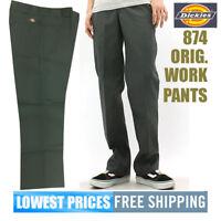 Dickies NWT Men's 874 Charcoal Grey Original Uniform Work Long Pants Free Ship