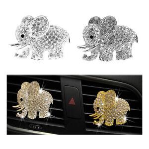 1 Stück Elefant Auto Aroma Vent Clip Auto Luftauslass Parfüm Clip Auto OrnameWP4