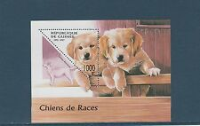 Guinée république  bloc   faune  chiens    1997  num : 123 E  **