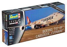 KIT REVELL 1:144 BOEING 747-8F CARGOLUX CUTAWAY LUNGHEZZA 52,5 CM ART 04949