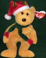 TY Beanie Baby 2003 Christmas Holiday TEDDY BEAR Retired MWMT Bean Bag #40028
