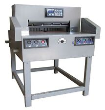 "650mm Programmable Paper Guillotine Cutter Cutting Machine+CE,25.6"" Stack"