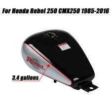 Motorcycle 3.4 Gallons Fuel Gas Tank For Honda CMX250 CMX 250 Rebel 1985-2016 US