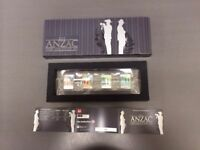 New Zealand - 2015 - Silver $2 & 70c Proof Coin- Anzac New Zealand & Australia
