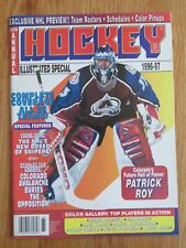 Hockey Illustrated PATRICK ROY 1996-97 Magazine COLORADO AVALANCHE Pavel Bure