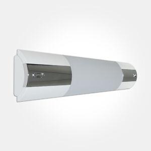 Eterna LEDOM5CR Designer Style 5W LED Chrome Over Mirror Bathroom Light