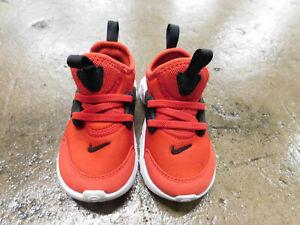 nike RT presto CU4868 600 university red white-black toddler Sneakers sz 7 EUC