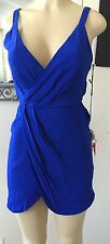 Summer Royal Blue NAVEN Navy Sexy Dress Size Small