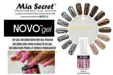 Mia Secret NOVO GEL for Cracked Mottled Effect Design Nail *MADE IN USA* 100%