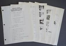 Service Manual Kawasaki Model KT-28RMS Engine Weed Eater Model 900 Trimmer