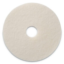 "Americo Polishing Pads, 20"" Diameter, White, 5/CT 401220"